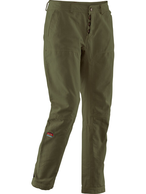 Elevenate W's Sunset Canvas Pants Turtle Green